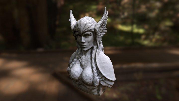 Viking Goddess 3D Model