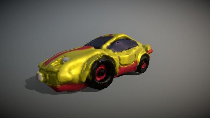 Car sculpt attempt in VR 3D Model