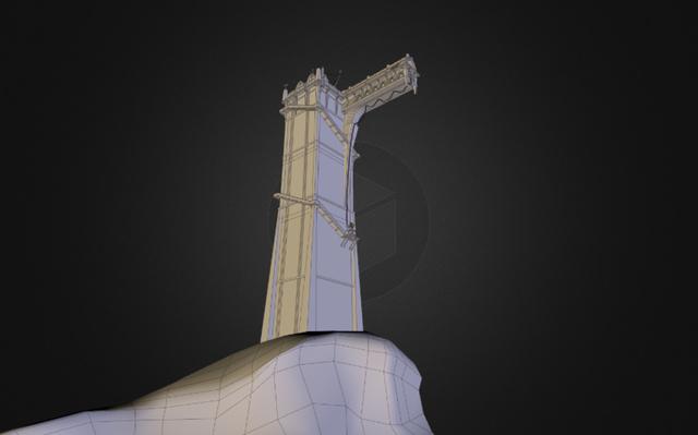 Modeling Tower 3D Model