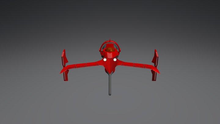 Swordfish II 3D Model