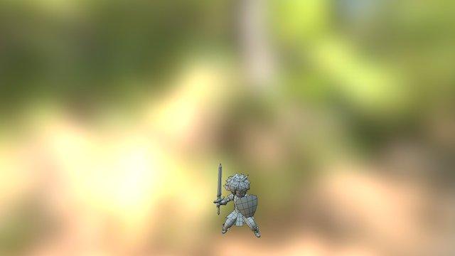 Swordman - Skill01 3D Model