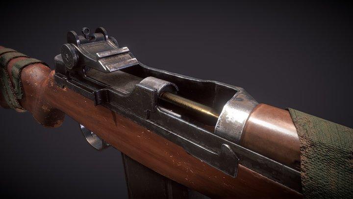 m14 remasterd 3D Model
