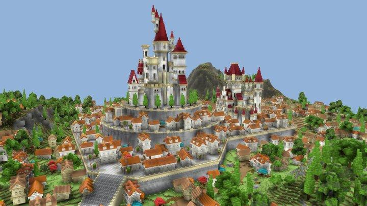 Kingdom Squarish 3D Model