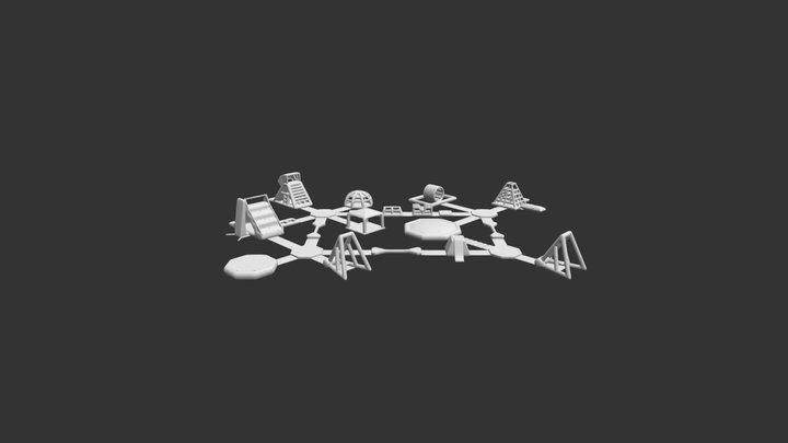 Aquaglide150 3D Model