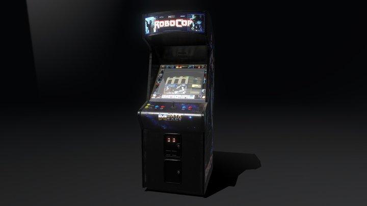 Robocop Arcade Machine 3D Model
