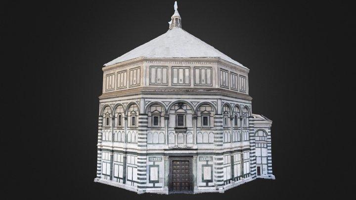 San Giovanni Baptistery 3D Model