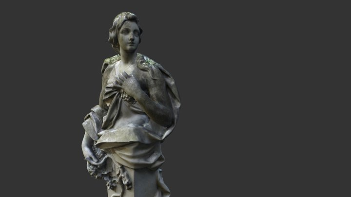 Statua Decimated 3D Model