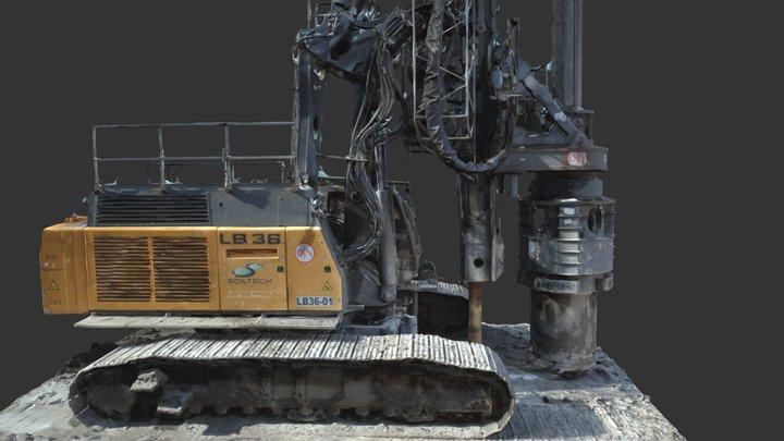 La machine 3D Model