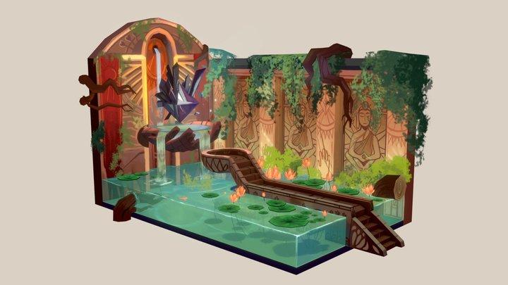 The Inner Sanctum 3D Model