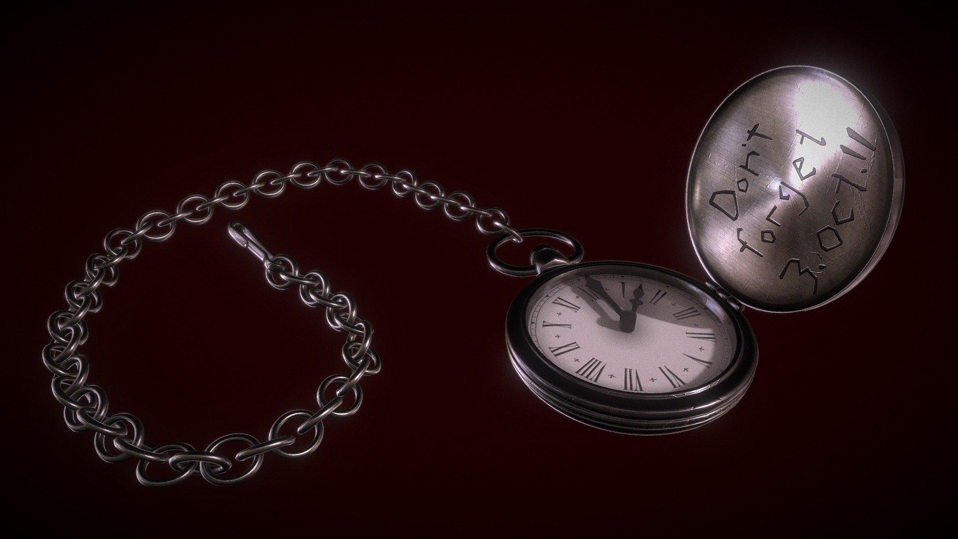 Fullmetal Alchemist Pocket Watch Drawing - Montre de poche ...