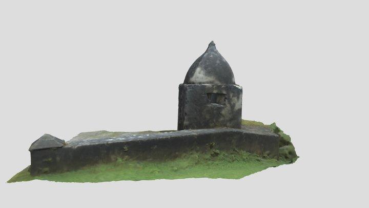 Sentry Post - Ft Solidad, Umatac, Guam 3D Model