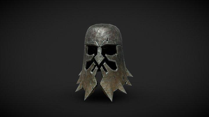 Kranian helmet 3D Model