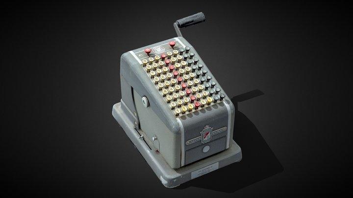 Vintage F & E Check Protector 3D Model