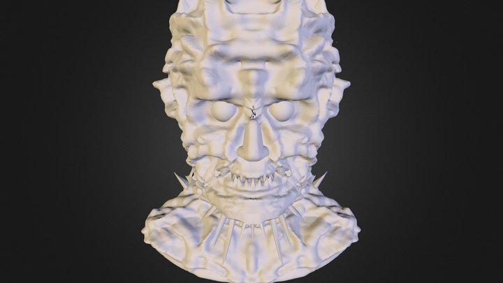 Tête De Monstre 3D Model