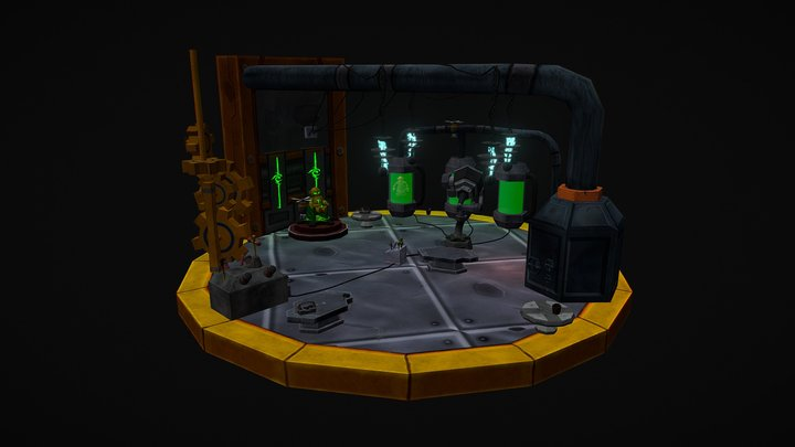 Tinkers Lab - Legion Contest Entry 3D Model