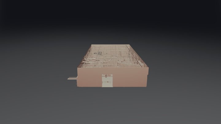 Tobacco Processing Plant 3D Model