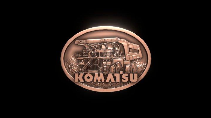 Hebilla Komatsu 930 V3 3D Model