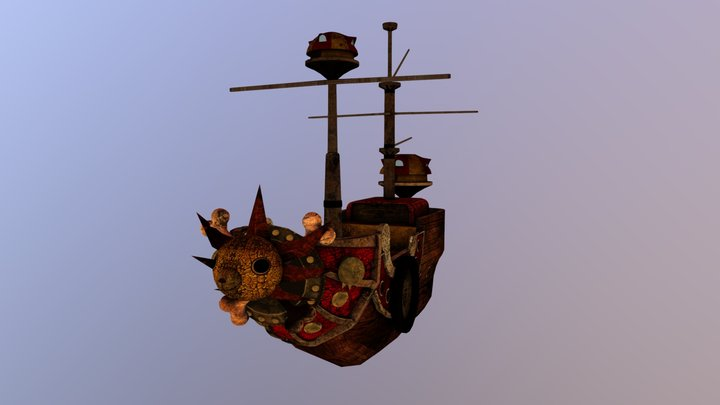 The Thousand Sunny 3D Model