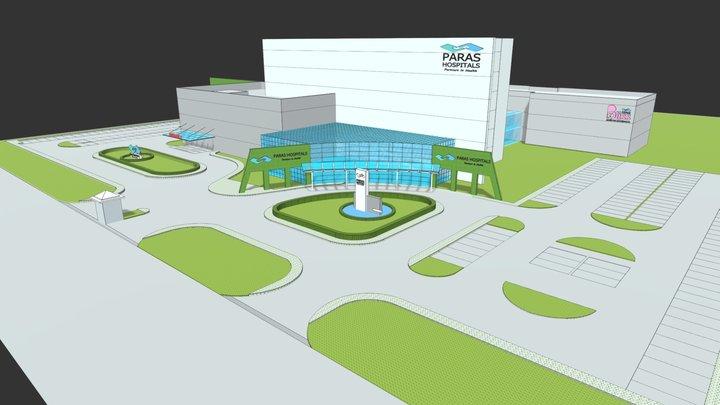 PARAS-HEC HOSPITAL, RANCHI 3D Model