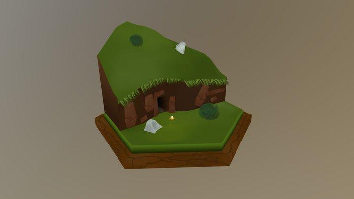 5. Cave Entrance 3D Model
