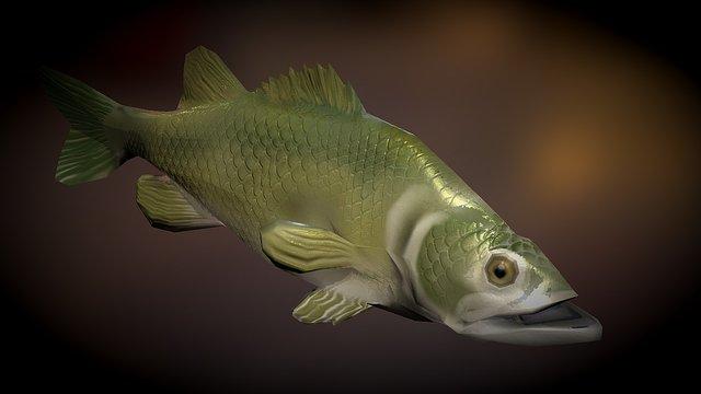 Largemouth Baas 3D Model