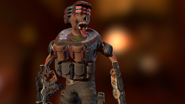 Doom Monster 3D Model