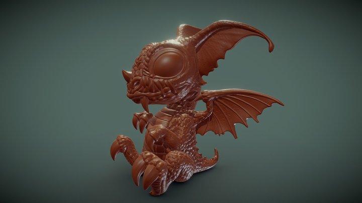 Little Dragon Vilgo 3D Model