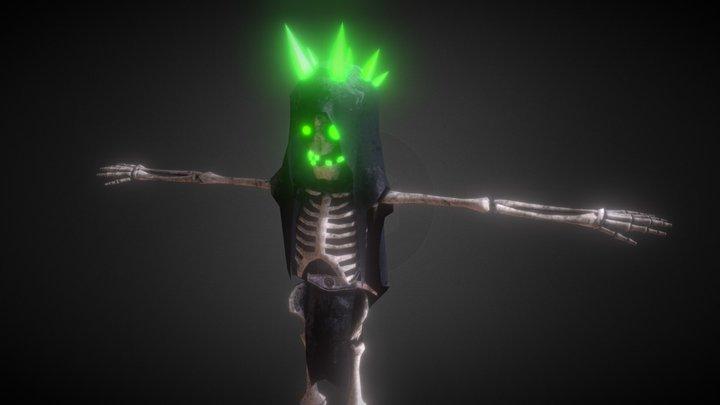 Bone Creeper 3D Model
