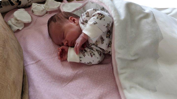 Baby Eleonora - 18 days old 3D Model