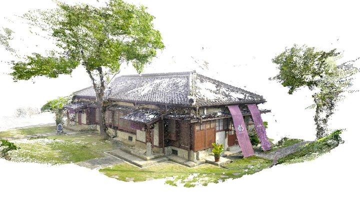 traditional Japanese house 3D Model