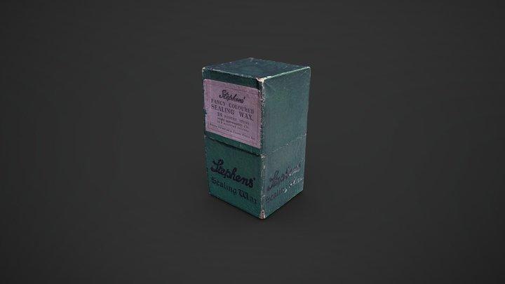 Sealing Wax Box 3D Model