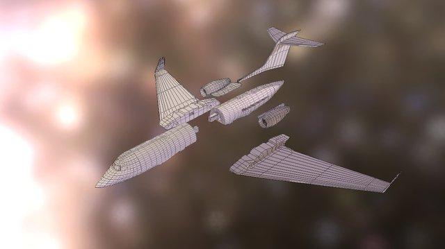Gulfstream for 3D Printing 3D Model