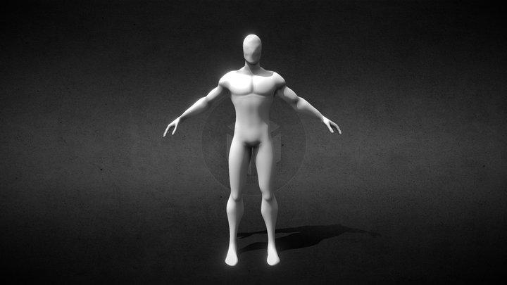 Base Spider Man 3D Model
