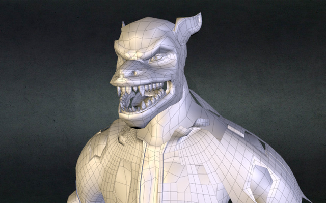 WOLFreadytosculpt 3D Model
