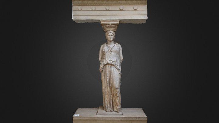 Greek Column 3D Model