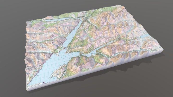 BEN_NEVIS 3D preview 3D Model