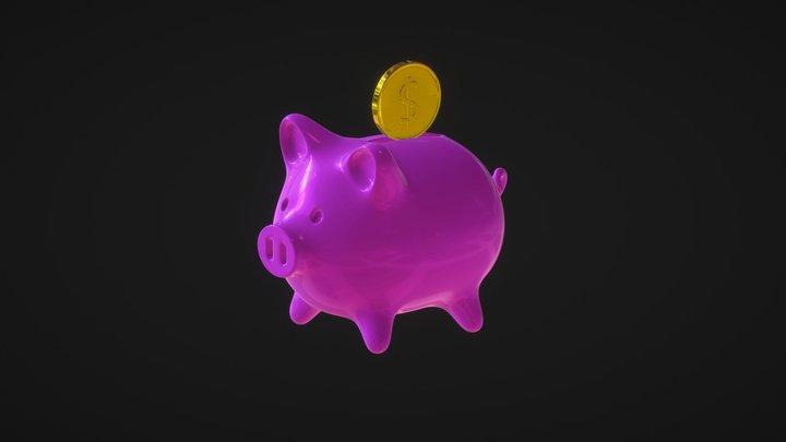 Piggybank 3D Model
