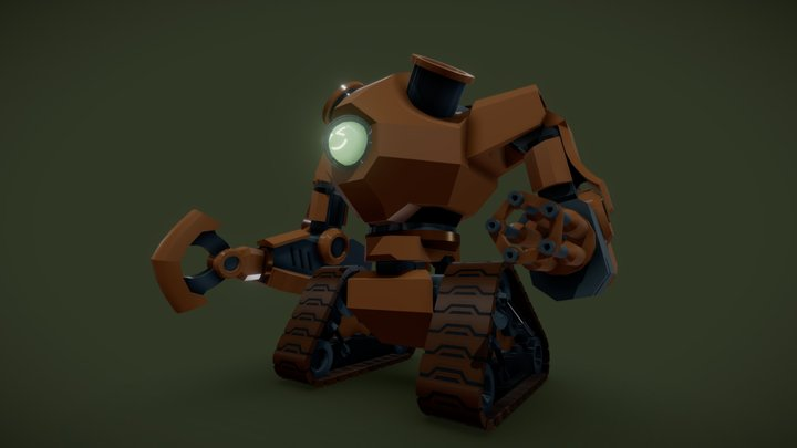 The Ghosteam Machine 3D Model