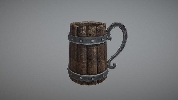 Stylized Mug 3D Model