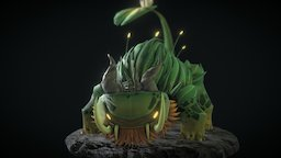 Fantasy Mythical Creature 3D Model
