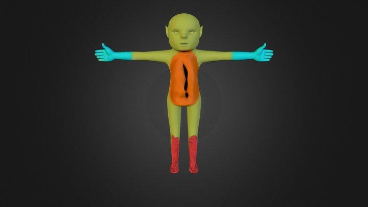 Elf Level 3 3D Model