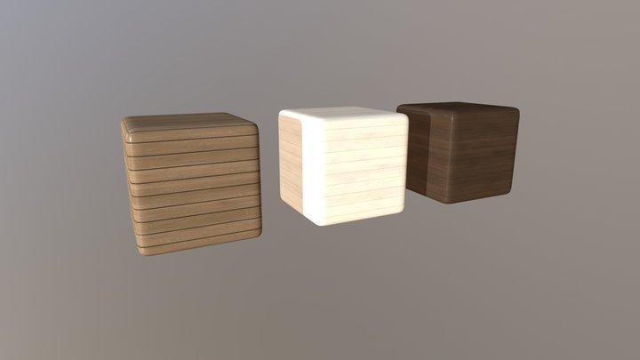 Wood PBR Texture set 3D Model