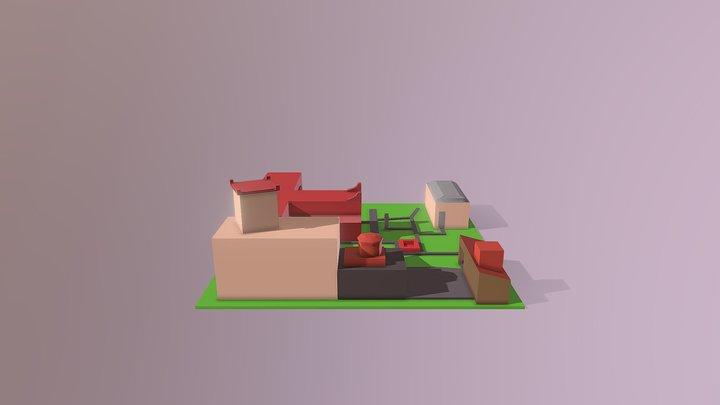 Trotsky Final 3D Model