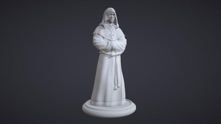 Monk - 3D Print Ready 3D Model