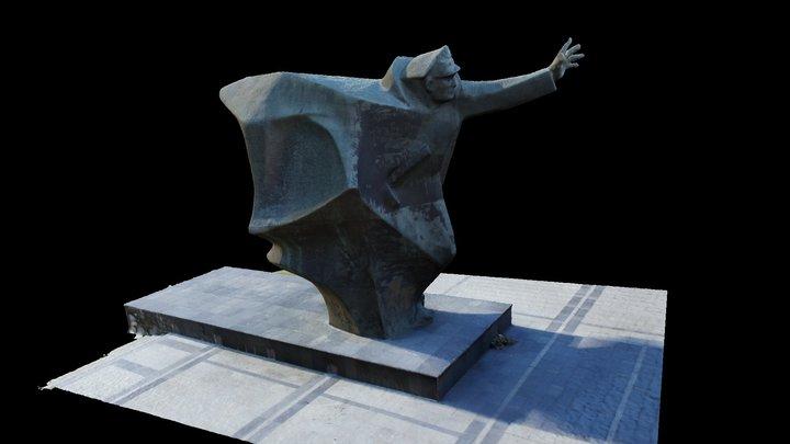 Pomnik Kosciuszkowcow przy Porcie Praskim 3D Model