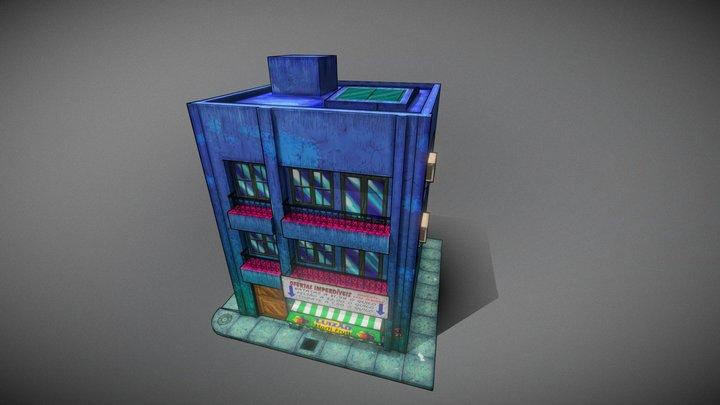 Building Cartoon style 3D Model