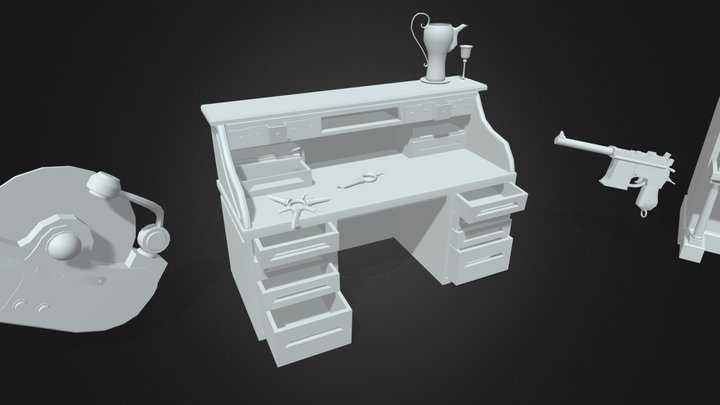 40min Draft 3D Model