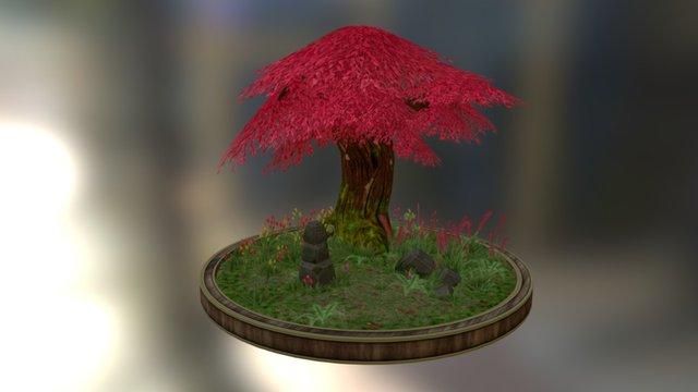 Cherryblossom Shrine 3D Model