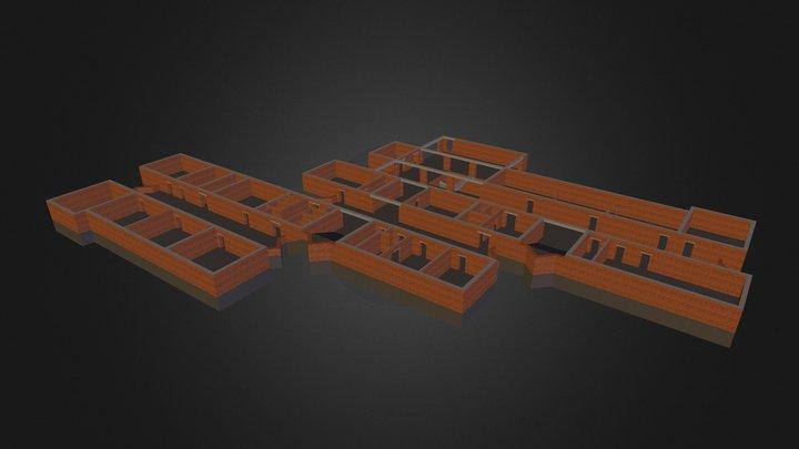 Shkola 3D Model