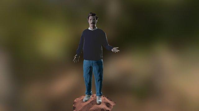 Pablo Escobar by Narcos 3D Model